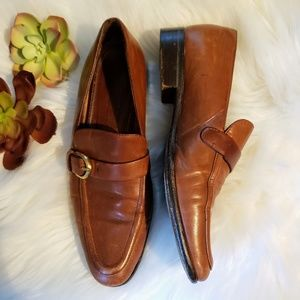 Coach | 7 Vintage loafers flats tan / camel color